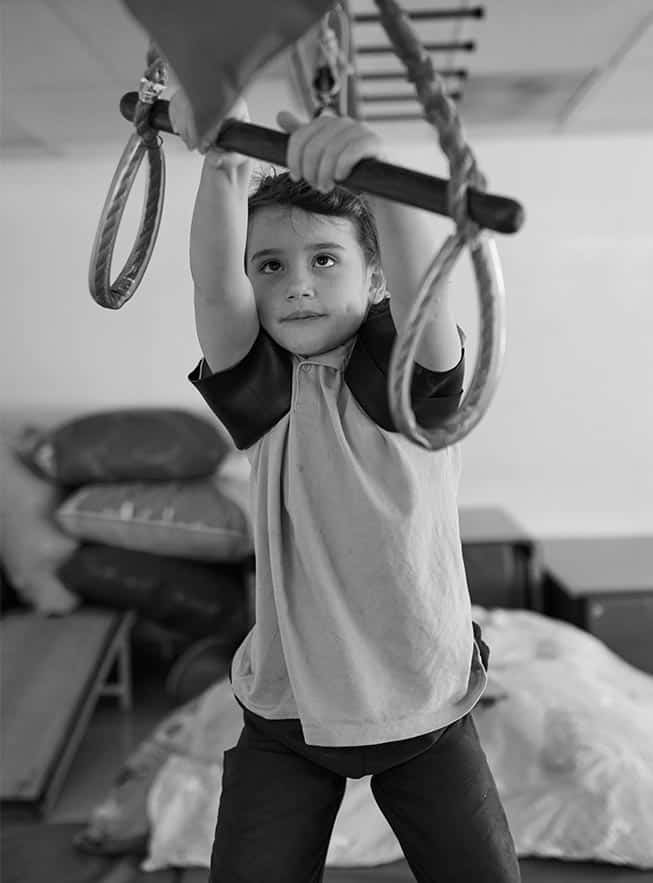 OTFC Therapy Adelaide- Child Swinging